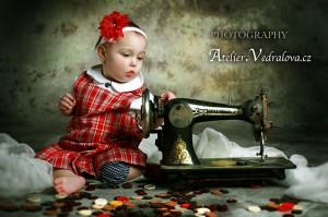 fotografování dětí foto fotoateliér baby photo focení švadlenka